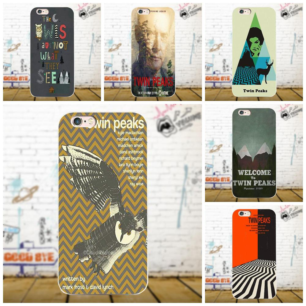 Oedmeb Welcome Twin Peaks TPU Cover Cases For Xiaomi Redmi 5 4A 3 3S Pro Mi4 Mi4i Mi5 Mi5S Mi Max Mix 2 Note 3 4 Plus