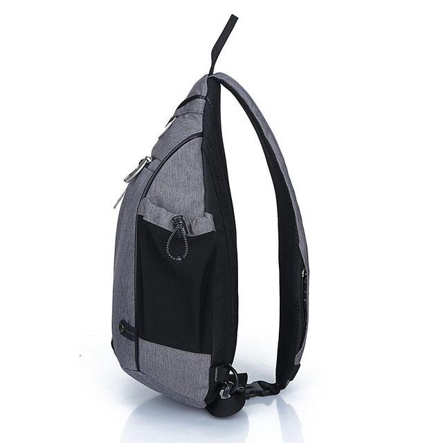 IX Brand Large Capacity Chest Bag Pack Nylon Zipper Women's Messenger Bags Men's School Bag Modern Shoulder Bag Backpack XA260WA 4