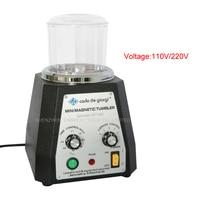 KT100 Mini Magnetic Tumbler Magnetic Polishing Machine Diamond Polishing Tumbler Gemstone Polishing Tumbler