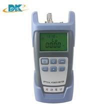 10pcs/lot Optical Power Meter DXP-40D -70~+10dBm SC/FC Connector,FTTH Fiber Optical Cable Tester,Optical Test optical