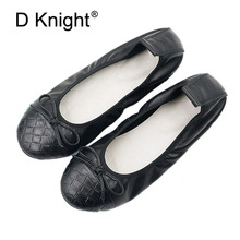 Geniune Leather Lady Casual Slip-on Flats Fashion Patchwork Bowtie Loafer Shoe For Women Soft Leisure Ballerinas Plus Size