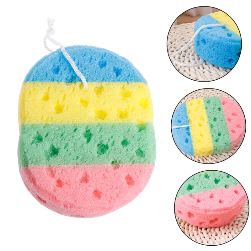 Exfoliating Massage Bath Ball Scrubber Shower Spa Sponge Body Cleaning Scrub Bathroom Accessories m15