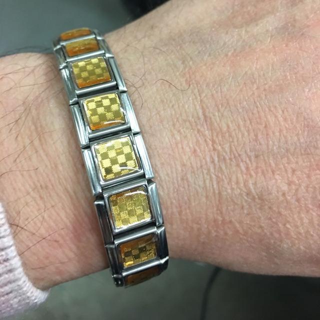 Stainless Steel Medical Power Germanium Magnets Bracelet