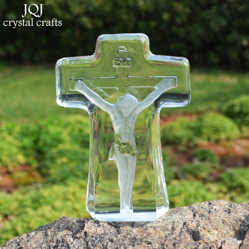 3D кристалды әшекей шегушісі Иса - Үйдің декоры - фото 2