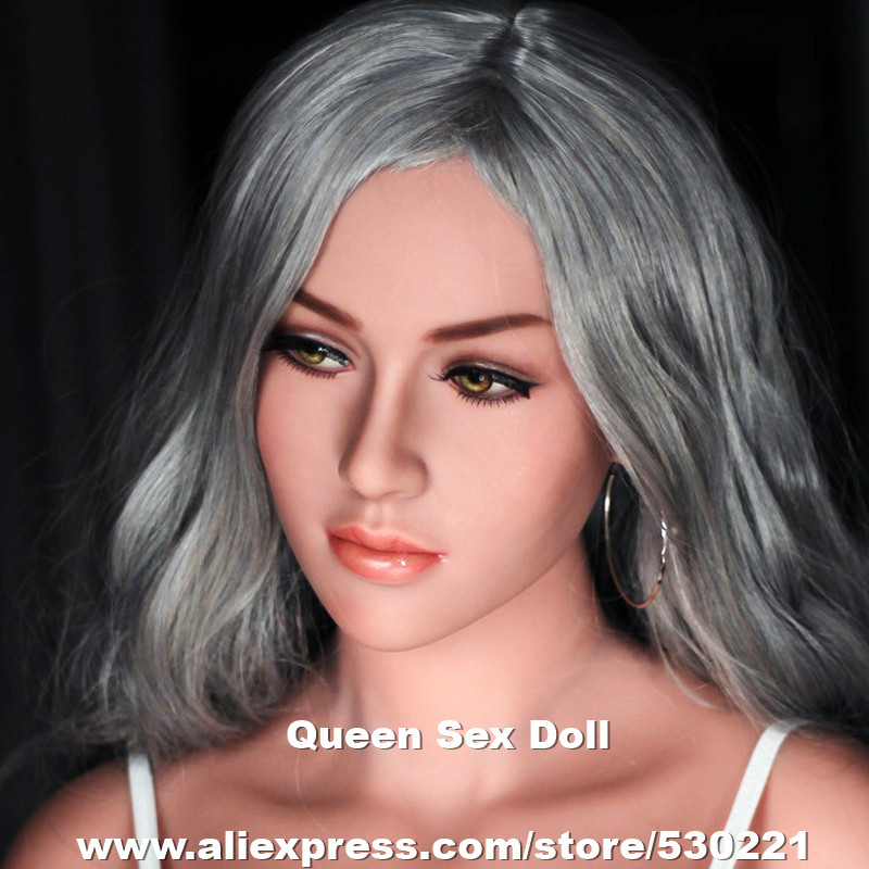 WMDOLL Top quality love doll heads for TPE sex dolls, japanese real doll adult head, oral sexy products top quality 51 cyberskin sex doll head for silicone adult dolls and real human dolls oral sex prodcuts