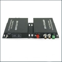 Fibra óptica conversor de vídeo HD CVI TVI AHD 3in1  2ch 720 P vídeo sem os Dados  o FC porto  single mode de fibra única 20 km|videos hd|video fiber optic converter|converter fiber optic -
