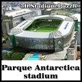 3D головоломки Палмейрас футбольный стадион стадион Палмейрас сувенир модель головоломка Игры Игрушки Хэллоуин Рождество