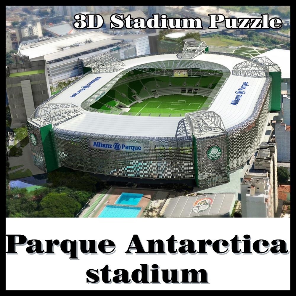 3DパズルフットボールスタジアムPalmeirasスタジアムPalmeiras SPお土産パズルモデルゲームおもちゃハロウィーンクリスマス