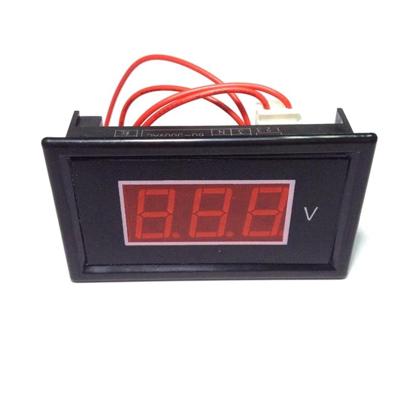 Digitális váltóáramú, 60 V-500 V-os feszültségmérő - Mérőműszerek - Fénykép 2