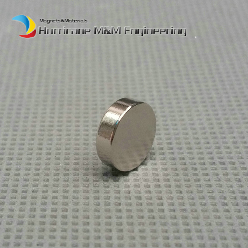 1 Pack Diametrically NdFeB Magnet Disc Diameter 10x3 mm Strong Neodymium Permanent Magnets Rare Earth Magnets NiCuNi Plated 1 pack diametrically ndfeb magnet ring diameter 9 53x3 18x3 18 mm 3 8 1 8 1 8 tube magnetized neodymium permanent magnets