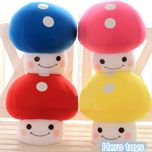 Super Mario 30cm catoon lovely magic mushroom Soft cute nanoparticle Stuffed Plush Toy doll model Hold pillow kids baby gift