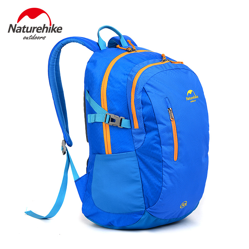 NatureHike Female Backpack Brand Waterproof Bag Athletic Men Bright Cycling Hiking Rock Climbing Sport Women Backpacks 4 Colors 8l naturehike ultralight outdoor single shoulder bag multifunctional climbing backpack waterproof sport bag
