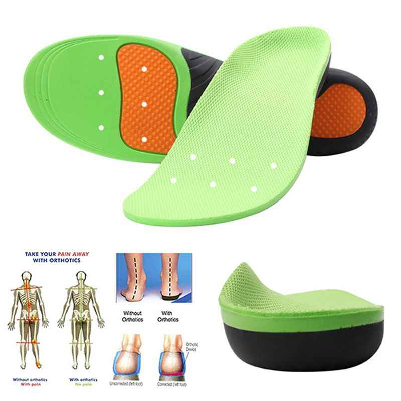 Breathable Insoles Foot Care for Plantar Fasciitis Heel Spur Running Sport Insoles Shock Absorption Pads arch orthopedic insole