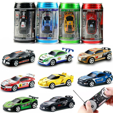 2019 Remote Control Car 20KM/H Coke Can Mini RC Car Radio Remote Control Micro Racing Car 4WD Cars RC Models Toys for Kids Gifts