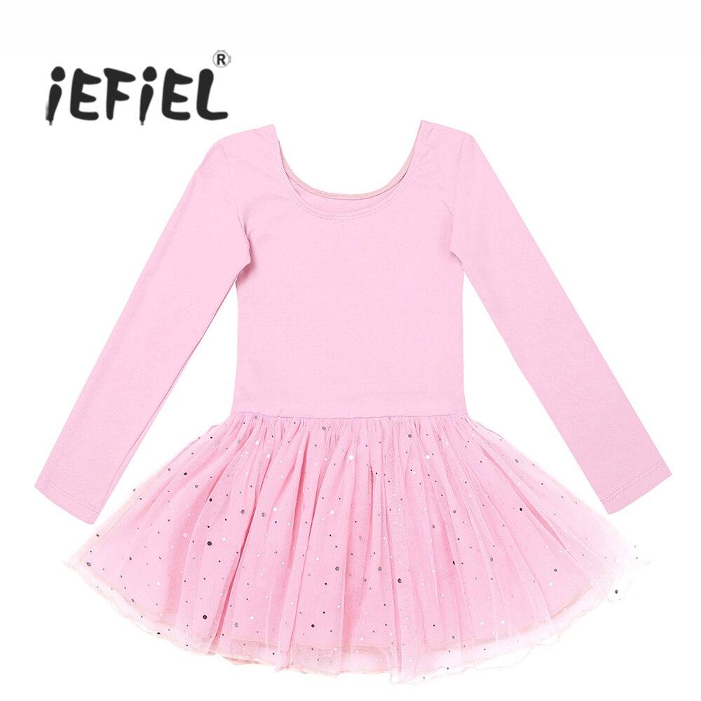 iefiel-4-color-girls-formal-font-b-ballet-b-font-dress-long-sleeves-shiny-font-b-ballet-b-font-dance-leotard-kids-teenage-gymnastics-professional-tutu-dress