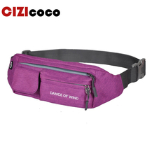 New Men Waist Bag Pack Waterproof Canvas Travel Phone Belt Pouch For Women Casual Shoulder Fanny Hip