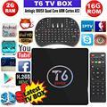 Chycet T6 S905X Amlogic Quad Core Android 6.0 TV Box 4 K 2 GB 16 GB 2.4G Wifi HDMI 2.0 KODI Smart TV Media Player Miracast PK X96