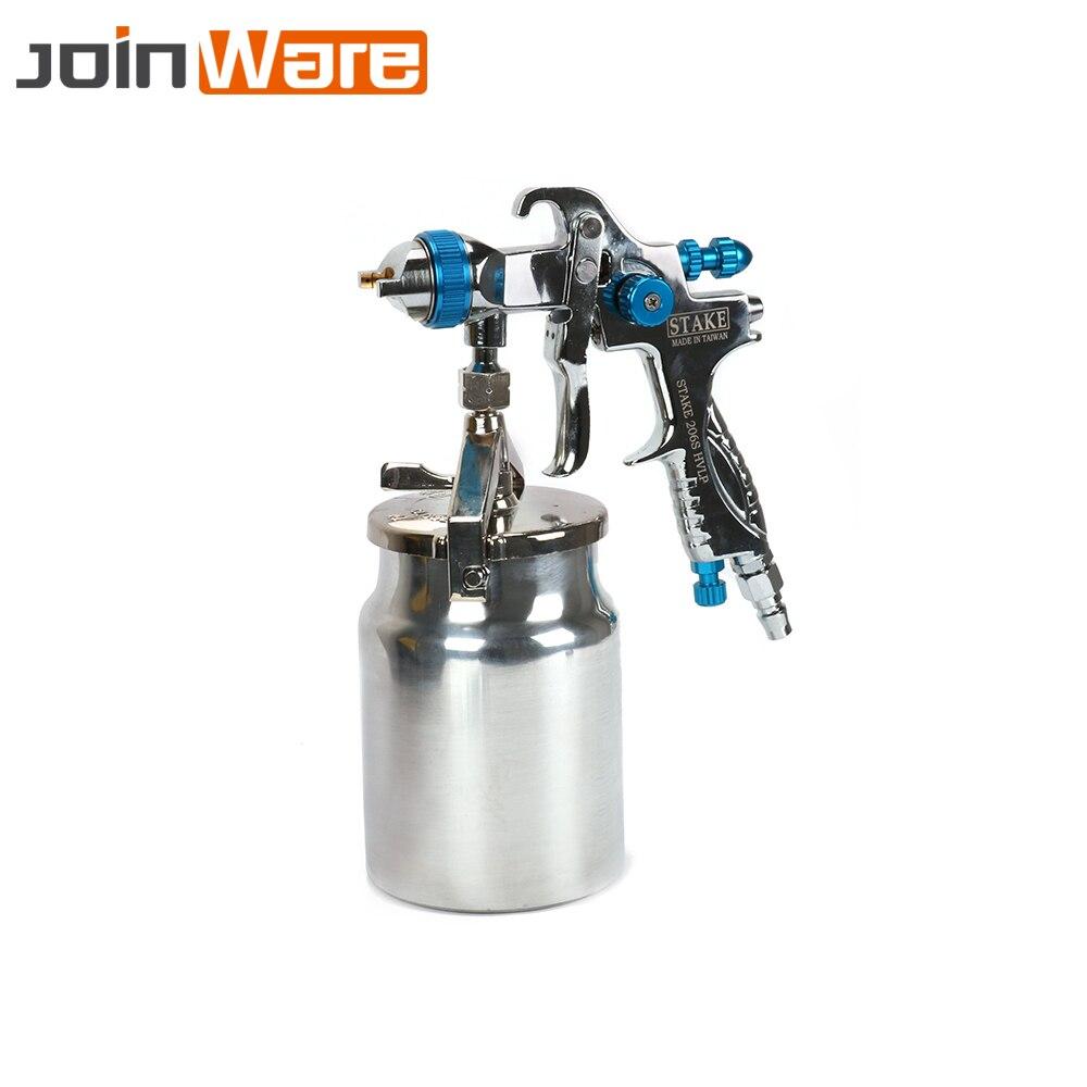 купить Nozzle 1.6mm Professional HVLP Air Spray Guns Airbrush For Painting Car Furniture Finishing Coat Spraying Tools по цене 5885.18 рублей