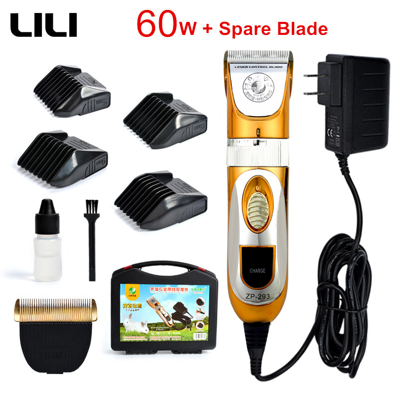 60W visoka snaga konjski dotjerivanje električni trimer za kosu profesionalni kućni ljubimac škare psa goveda kunići brijanje stroj za rezanje