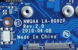 Image 4 - K000104390 Per Toshiba Satellite A660 A665 scheda madre Del Computer Portatile NWQAA LA 6062P con N11P GE1 A3 GPU Onboard HM55 DDR3 completamente provato