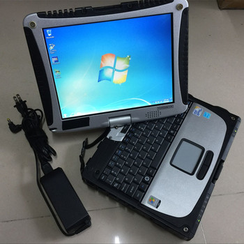 New All Data Auto Repair Software Alldata 10.53 mitchell on demand 2in1 installed in CF19 Touchbook laptop Win7 auto software