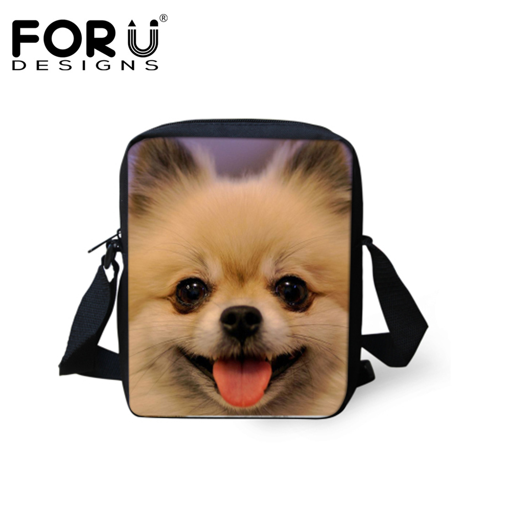 FORUDESIGNS Cute Animal Chihuahua Girls School Bags Small Children Schoolbag for Baby Students Schoolbag Kids Bookbag Mochila