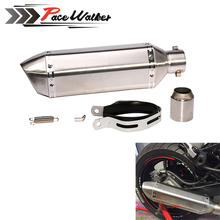 Free shipping 51mm gy6 Motorcycle Exhaust pipe For CB400 CBR600 CBR1000 YZF R1 E6 GSXR600 GSXR750 Motorcycle Exhaust