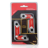ANENG 2pcs WM7 S Soldering Locator welding Magnets Strong Dual Use Magnetic Holder Internal and external right Angle fixator