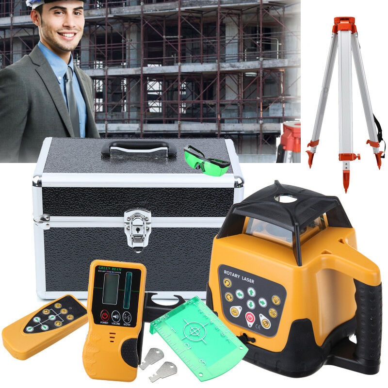 Ship From EU Good Quality Lower price Self leveling Rotary Rotating Laser Level 500m range Green