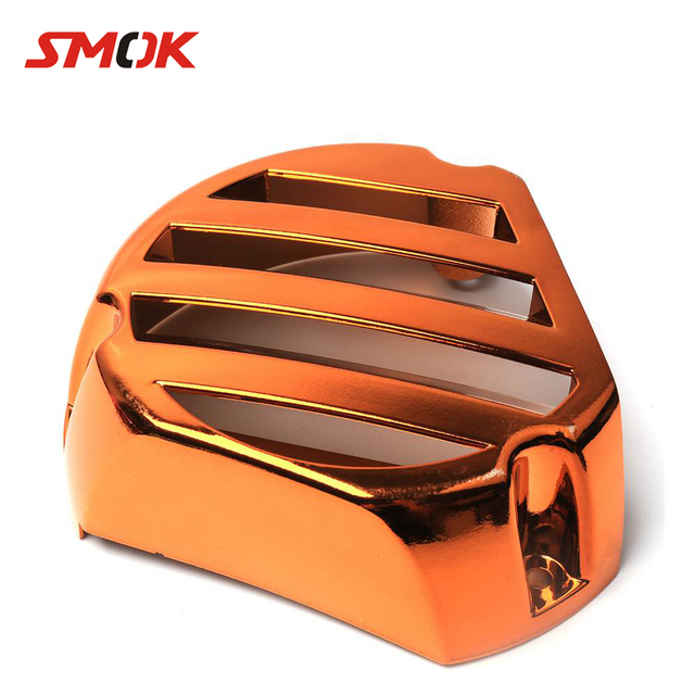 SMOK Motorcycle Accessories Fan Cover Refitting Moped Scooter Electroplate Fan Cover For Yamaha BWS X 125 Cygnus 125 GTR 125