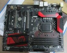 Подержанные оригинальная для MSI Z170A ИГРОВОЙ M5 LGA1151 DDR4 для Z170A ATX Рабочего материнская плата Бесплатная доставка