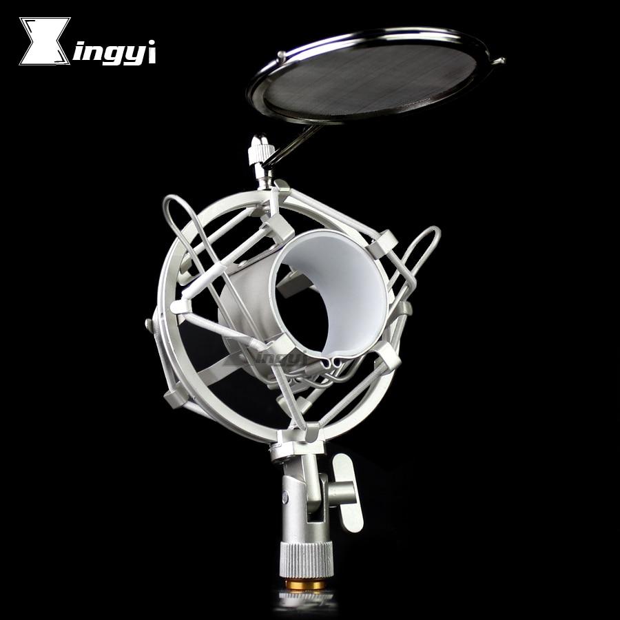 Unterhaltungselektronik Spinne Mikrofon Shock Mount Mic Isolation Schild Stehen Windschutzscheibe Pop Filter Popfilter Für Takstar Pc K810 K550 K600 K500 Sm16 Ein GefüHl Der Leichtigkeit Und Energie Erzeugen