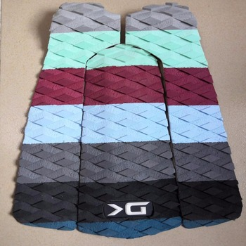 EVA sup deck pads black traction surf pads wholesale surfboard foot tail pads