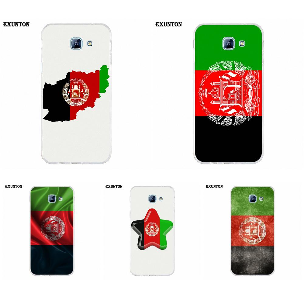 For Galaxy Alpha Core Note 2 3 4 S2 A10 A20 A20E A30 A40 A50 A60 A70 M10 M20 M30 Soft TPU Case Mobile <font><b>Afghanistan</b></font> Flag image