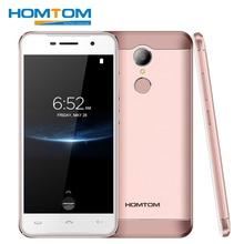 "D'origine HOMTOM HT37 Pro 4G LTE Android 7.0 Mobile Téléphone MTK6737 Quad Core 3 GB + 32 GB 5.0 ""1280×720 D'empreintes Digitales OTG Smartphones"