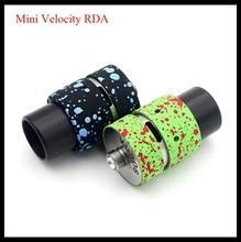 ที่มีสีสันมินิความเร็วRDAโคลนRebuildable Dripperเครื่องฉีดน้ำบุหรี่อิเล็กทรอนิกส์ที่มีกว้างเคล็ดลับหยดเจาะการควบคุมการไหลของอากาศ