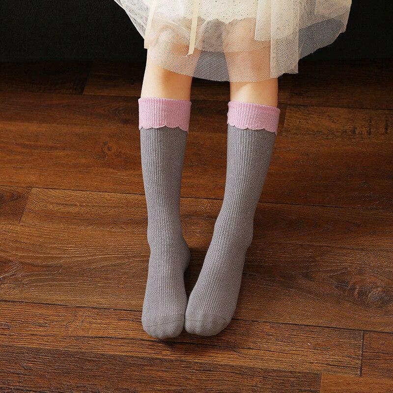 3 yataq otağı / çox Yeni payız qış Baby girl corab Moda Ulduz - Uşaq geyimləri - Fotoqrafiya 3