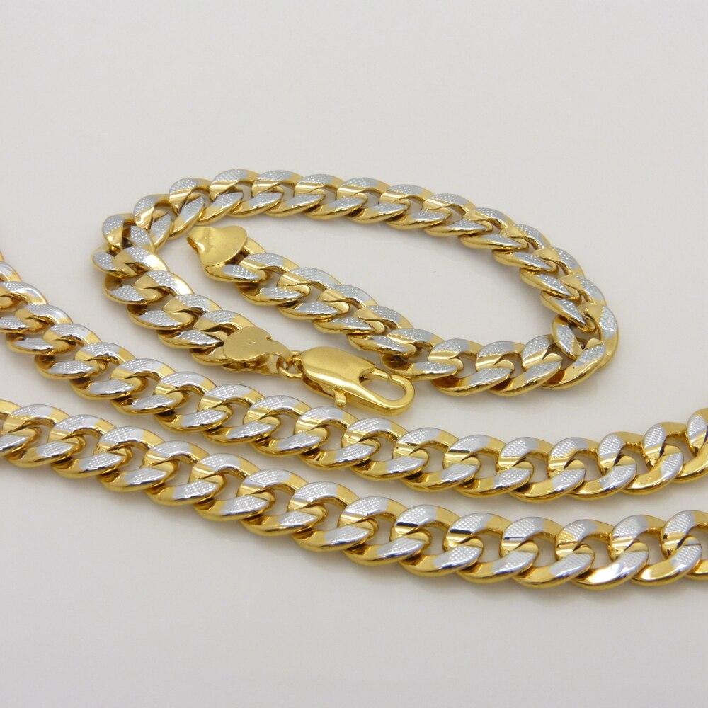 Купить снаряженная набор ювелирных изделий золотое заполненное мужское