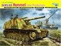 Modelo dragão Kit 1:35 sd. Kfz.165 Hummel produção tarde
