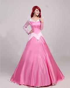 2017 New Adult Sleeping Beauty Costume Princess Aurora Dress Women Halloween Costume  sc 1 st  AliExpress.com & 2017 New Adult Sleeping Beauty Costume Princess Aurora Dress Women ...