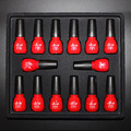 Pro 12Color Nail Art Soak Off Uv Gel Polish + Base Top Coat Set UV Glitter Gel Tips  Decoration SET As Super Gift
