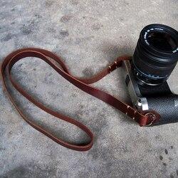 Ремень для камеры ручной работы кожаный ремень для камеры дслр повязка на голову старинная камера ремень шеи декомпрессия сильные аксессуа...