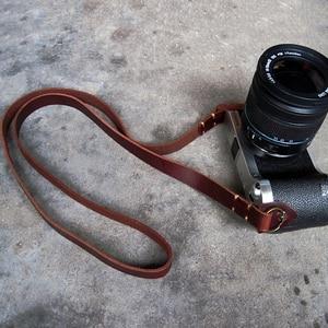 Handmade Camera Neck Strap Lea