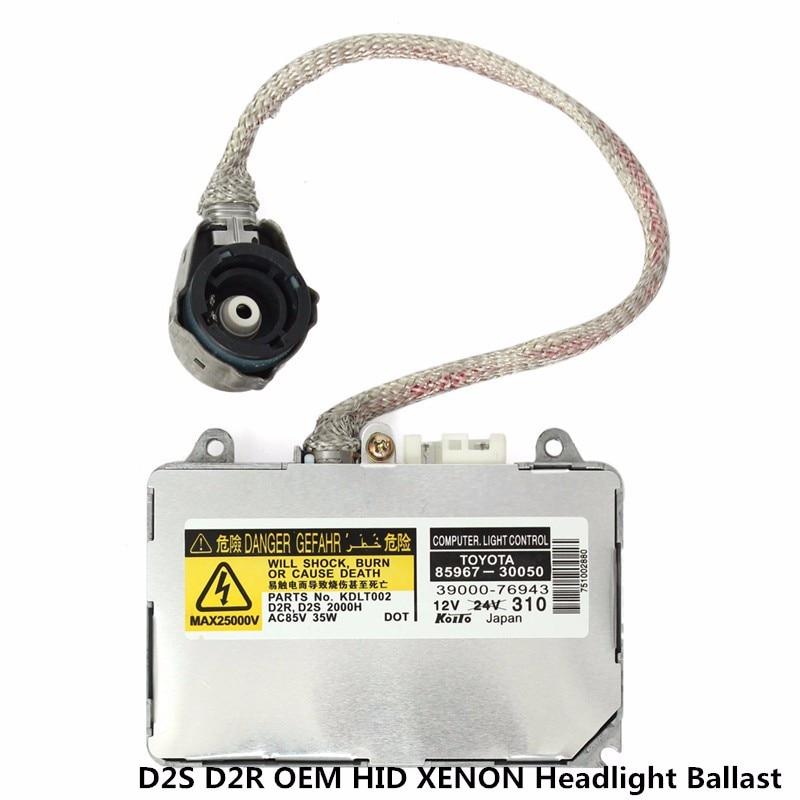 NEW OEM KDLT002 85967-50020 D2S D2R 35W HID XENON Ballast And Ignitor For Lexus Headlight 8596750020 Headlamp