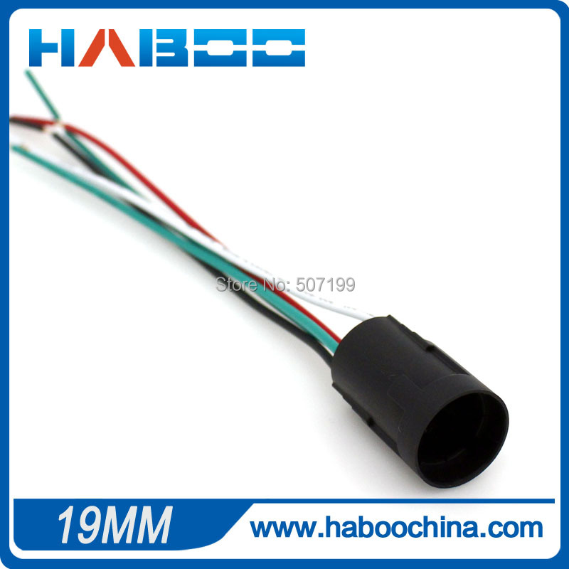 small packing 10pcs/lot diameter 19mm socket for HABOO dia.19mm metal switch,this link is only for the socket,whithout switch