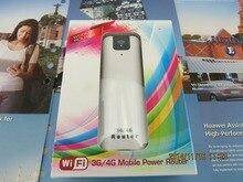 Banco de bolso mini router com 2200 mAh Wcdma2100mhz 3 g roteador sem fio com slot para cartão sim