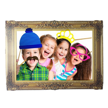 9d0e7b617fb DIY Paper Picture Frame Cutouts Antique Photo Booth Props. US  1.29   piece Free  Shipping
