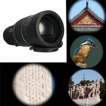 Lente De Zoom óptico De Doble Enfoque De 30x52, Prismáticos De Telescopio Monocular, Lentes De Recubrimiento Múltiple, Lente óptica De Doble Enfoque, Visión Diurna Y Nocturna