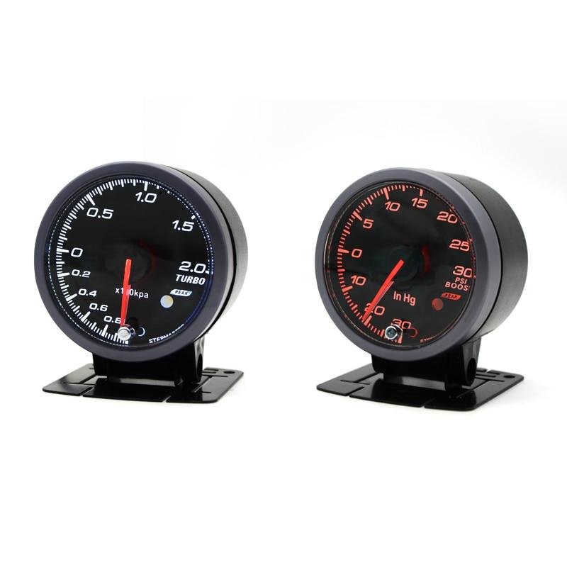 dragon gauge 60mm 2 0 bar 30 30 psi boost turbo gauge. Black Bedroom Furniture Sets. Home Design Ideas