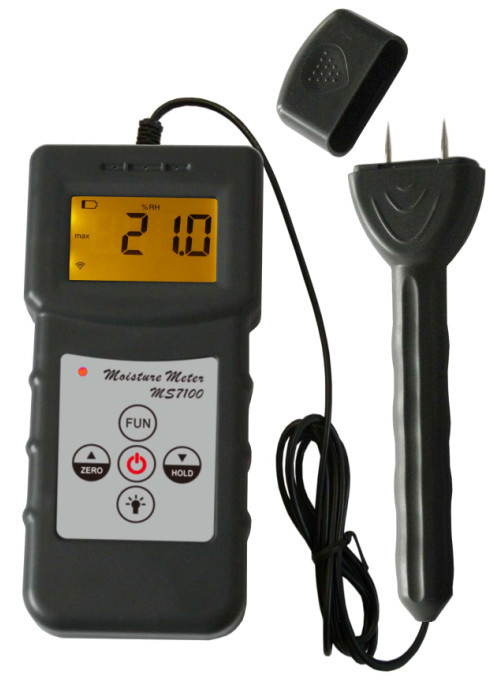 professional Pin Wood Moisture tester Meter for woodwork,paper making, furniture, timber traders and other relevant industry